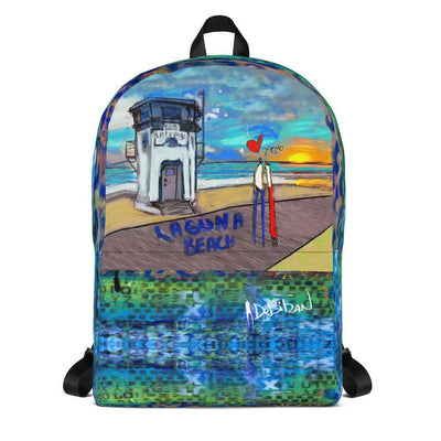 Laguna Beach Backpack - DeBilzan Gallery