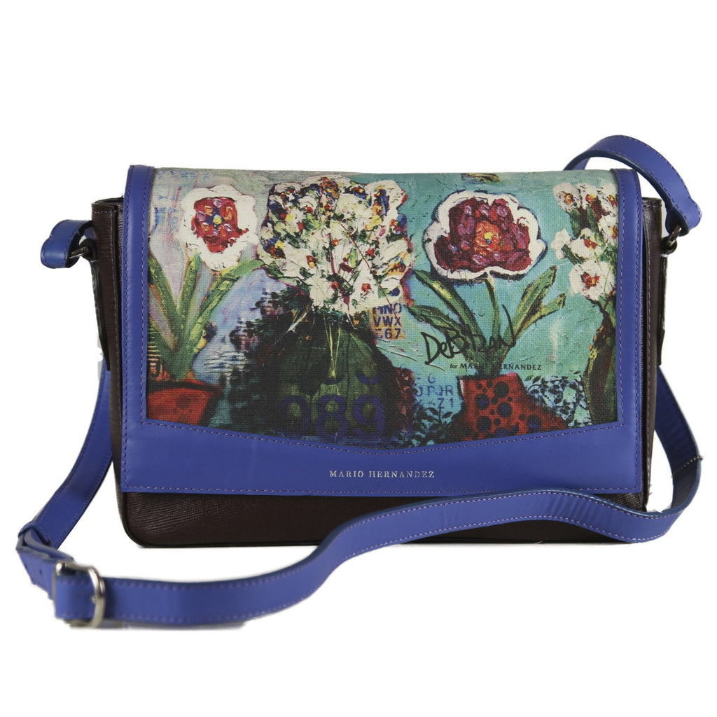 handbag Womans Blue Purse
