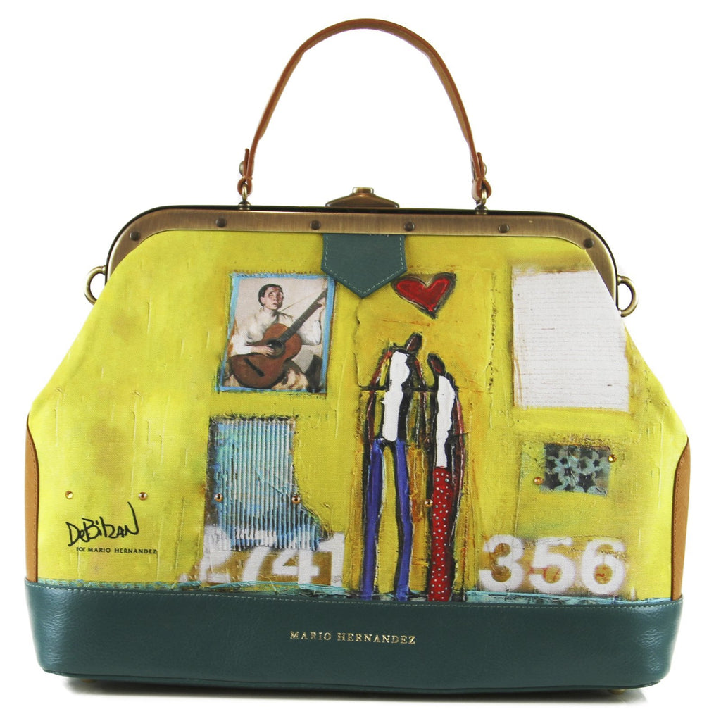handbag Yellow Purse