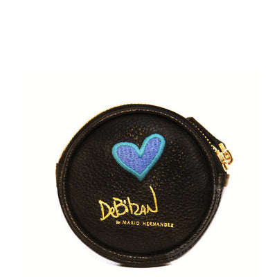 Heart Leather Coin Wallet