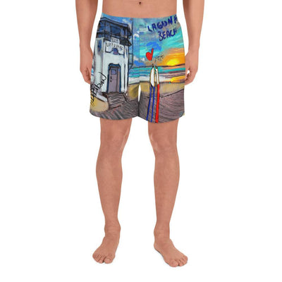 LAGUNA BEACH Men's Athletic Shorts - DeBilzan Gallery