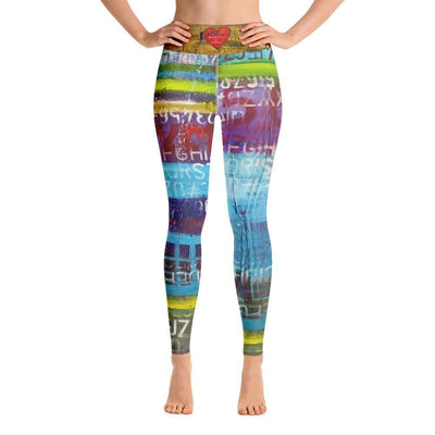 Leggings DeBilzan Island Times Yoga Leggings
