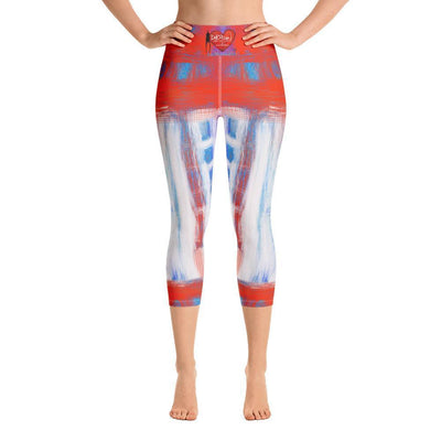Leggings Yoga Sets DeBilzan Findings Yoga Capri Leggings