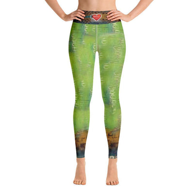 Leggings Yoga Sets DeBilZan Right Behind U Yoga Leggings