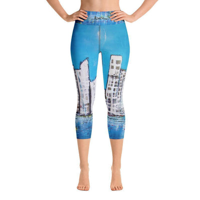 Leggings Yoga Sets, Leggings NYC Yoga Capri Leggings