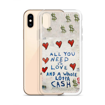Love And Cash iPhone Case