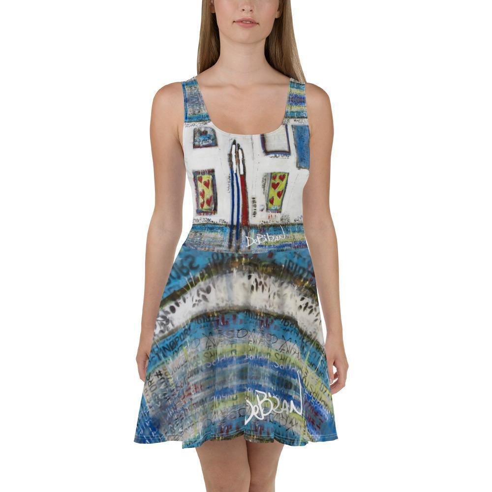Love Garden Skater Dress - DeBilzan Gallery