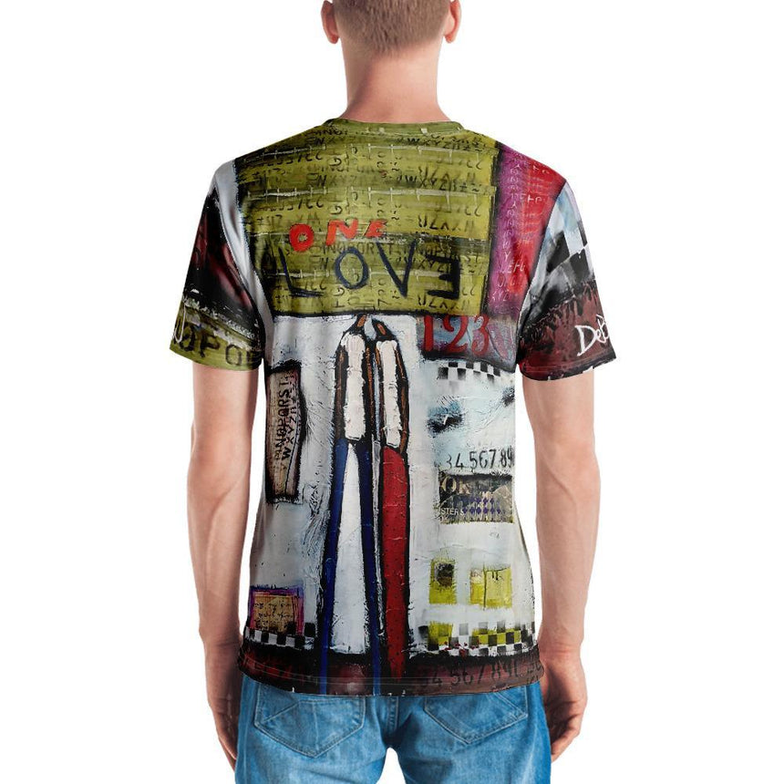 Men Shirts One Love Men's T-shirt