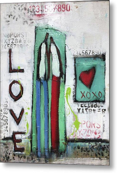 Metal Print In Love  - Metal Print