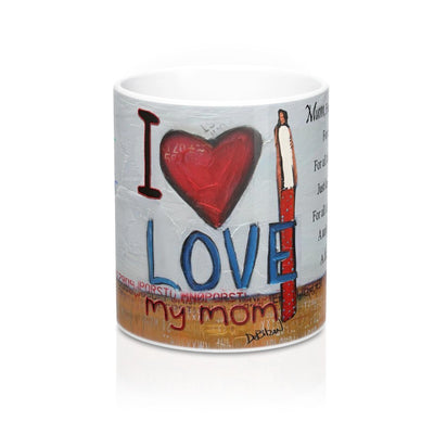 Mug DeBilzan I Love Mom Mug 11oz