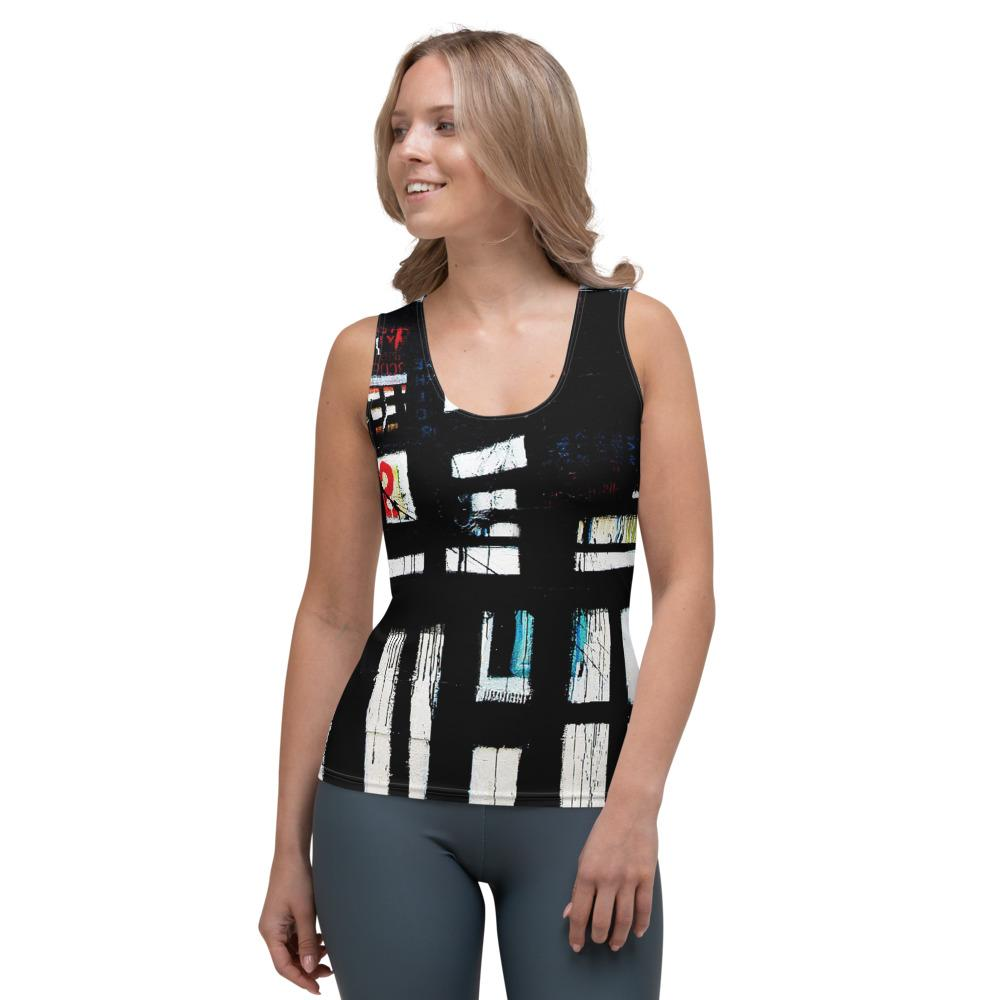 New Abstract Women's Tank Top