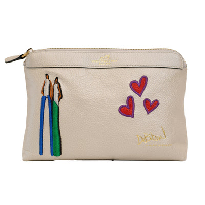 Love Forever Cosmetics Bag - DeBilzan Gallery