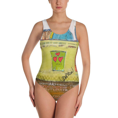 One-Piece Swimsuit I-do One-Piece Swimsuit