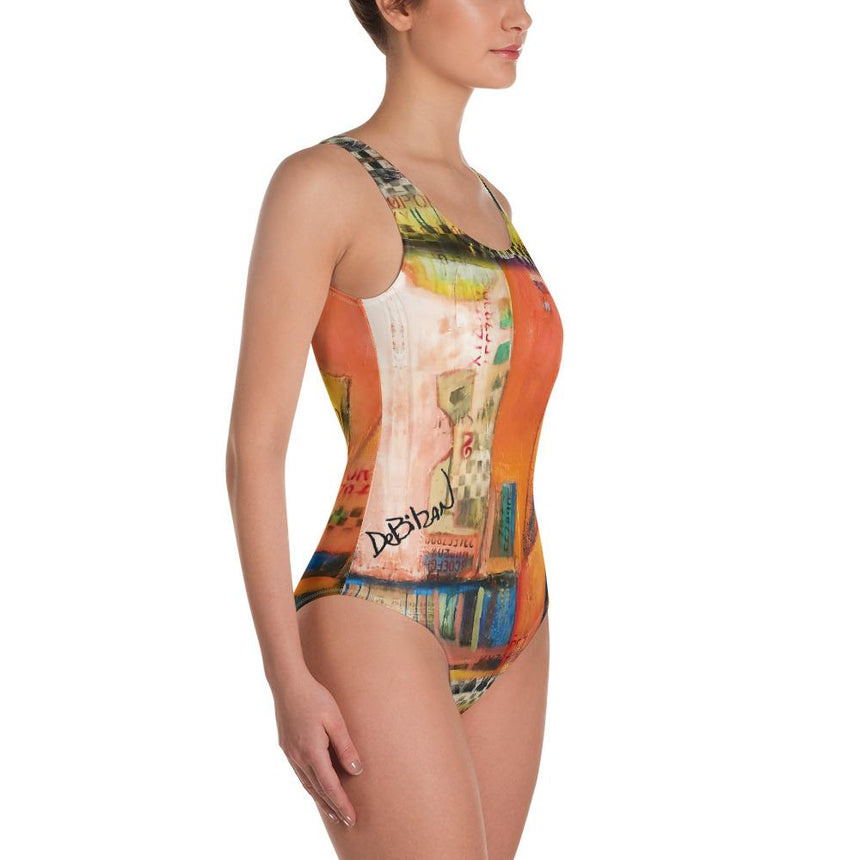 One-Piece Swimsuit Just As You Are One-Piece Swimsuit