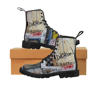 DeBilzan - OXXO Men's Canvas Boots - DeBilzan Gallery
