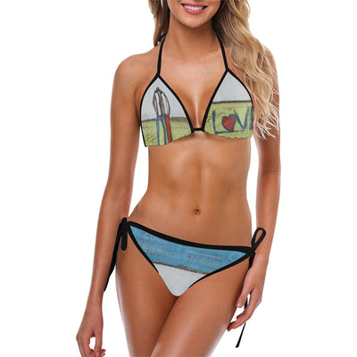 Swimwear copy Custom Bikini Swimsuit (Model S01)