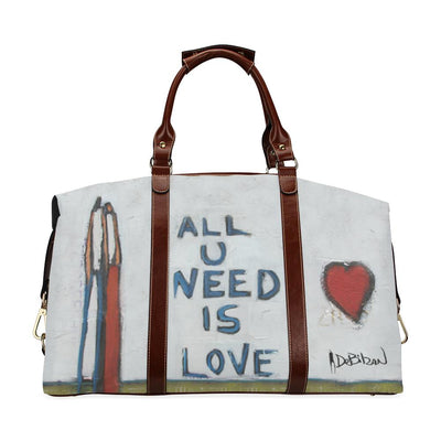 Travel Bags DeBilzan All U Need is Love Flight Bag (large)
