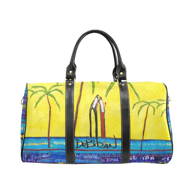 Travel Bags DeBilzan Yellow Mellow Travel Bag Black (Small)