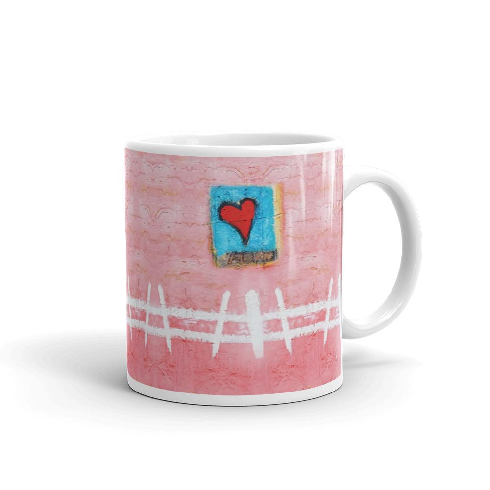 White Picket Fence Mug
