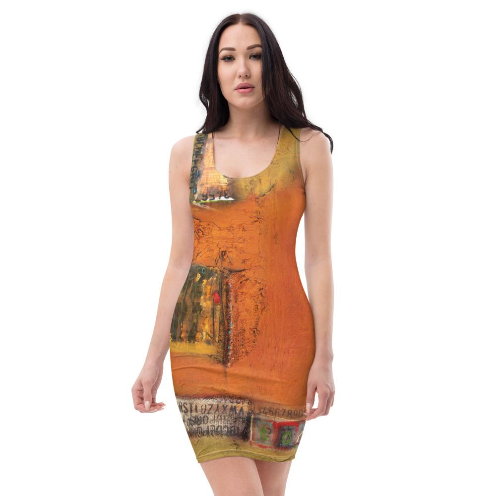 Writing On The Wall Cut & Sew Dress
