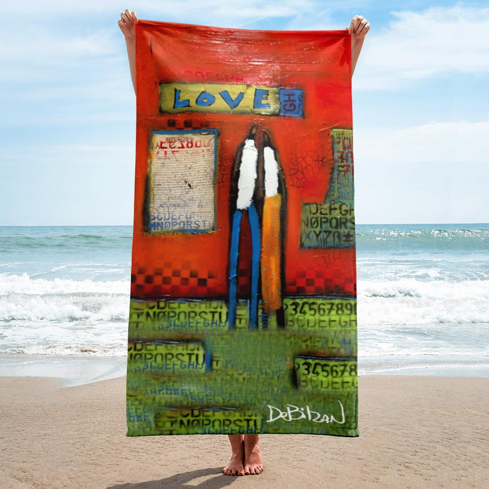 Written In Love Towel