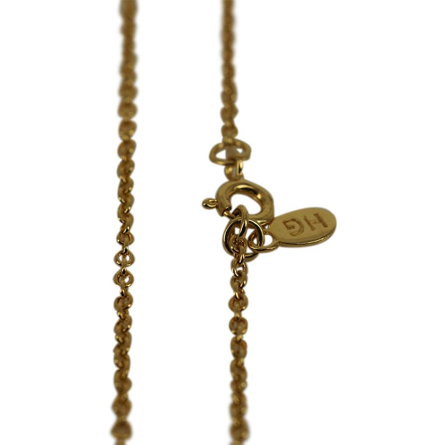 Necklace in 18 carat gold plated sterling silver