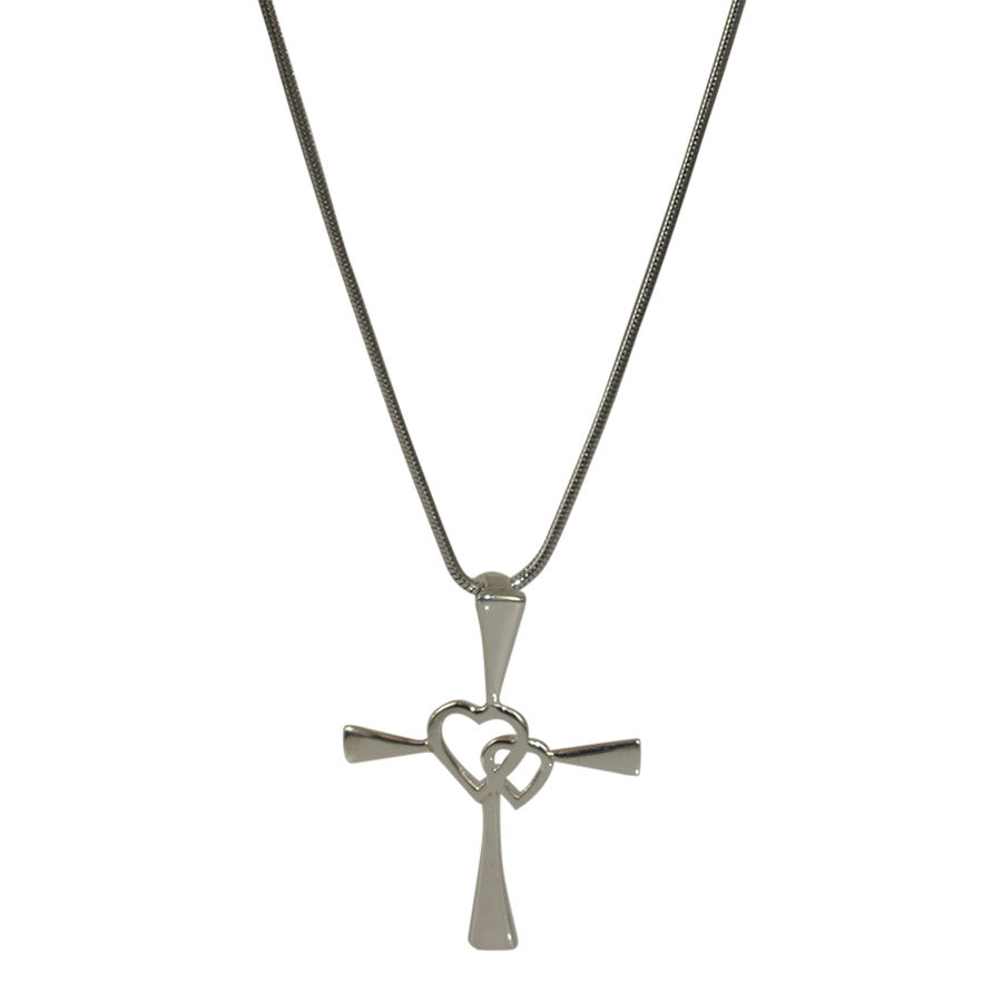 Cross pendant sterling silver
