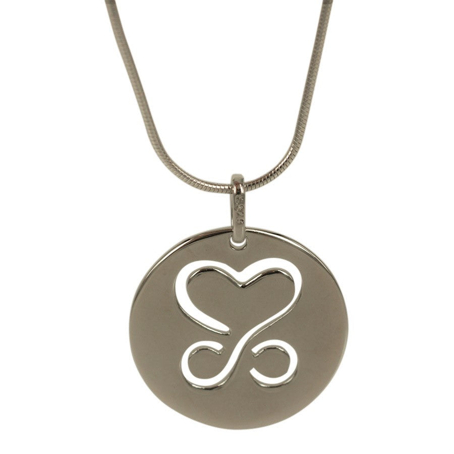 LIMITED EDITION 2020. Pendant Love and Eternity. Pendant in sterling silver