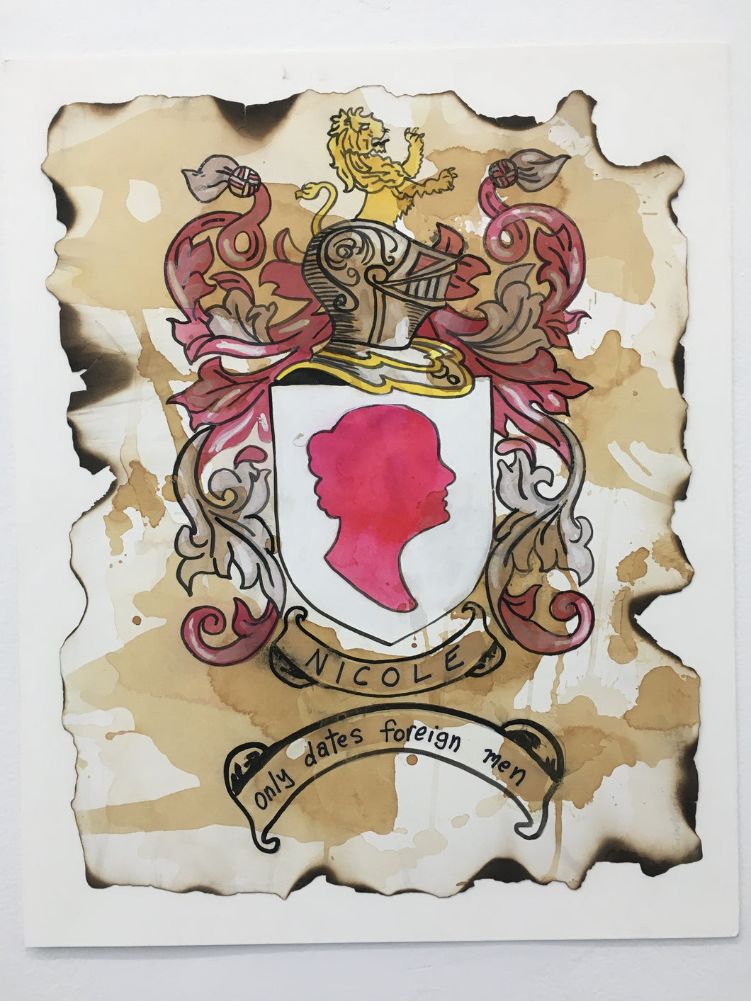 Family Crest Custom Portrait