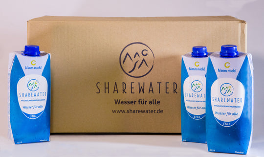 Sharewater Box 24 x 500 ml