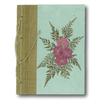Pressed Flower Journal Turquoise