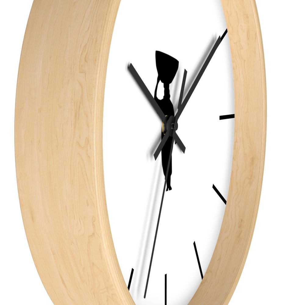 It's Always Rwanda Bean O'clock -  Wall Clock
