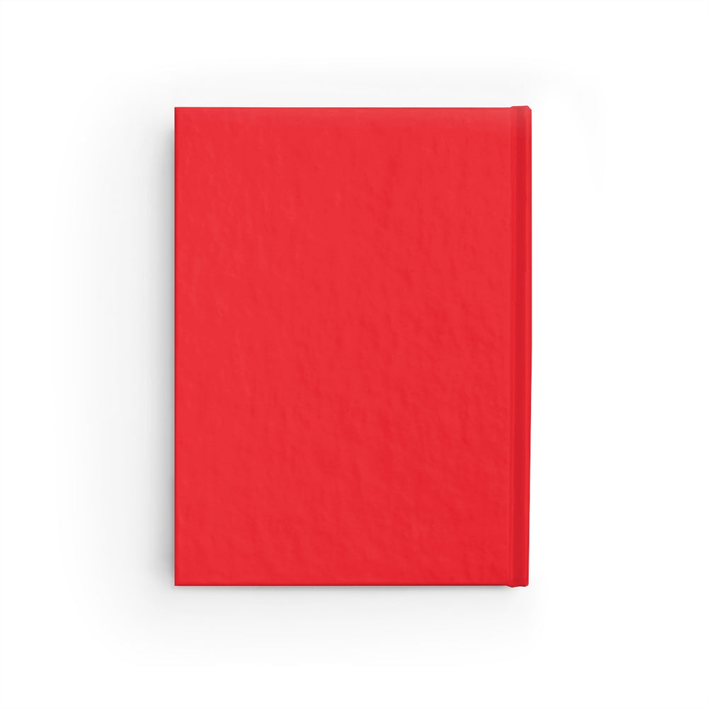 Journal - Ruled Line (Red)