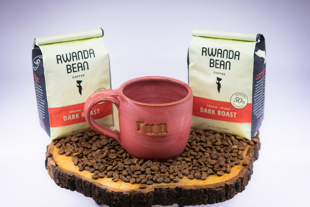 Runner's Bundle: Coffee and a Run Mug | Hand-Crafted from Lulu Ceramics