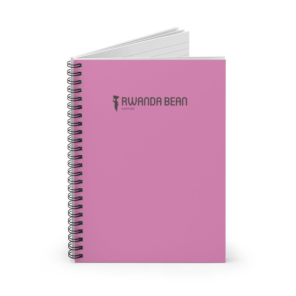 Spiral Notebook - Ruled Line (Pink)