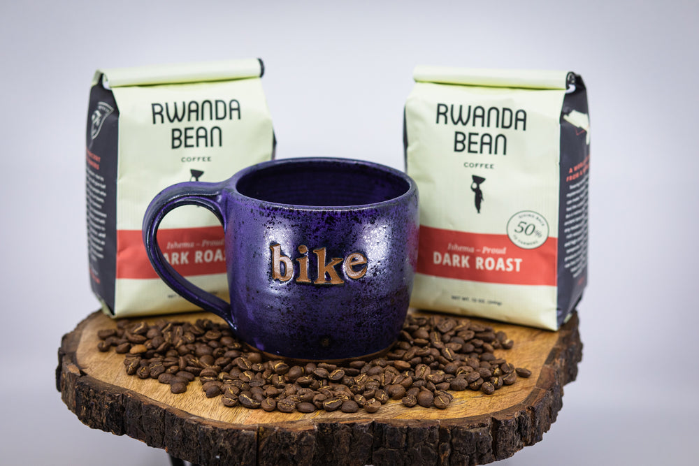 BIKE LOVER'S BUNDLE | Coffee + Bike Mug | Hand-Crafted from Lulu Ceramics