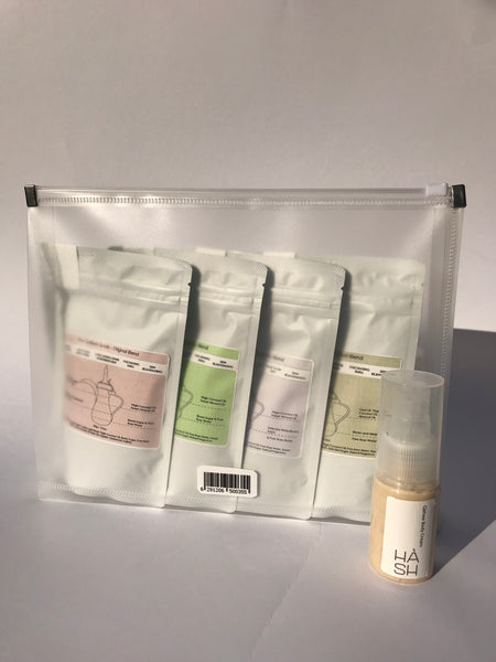 HÀSH The Qahwa Scrub Bundle
