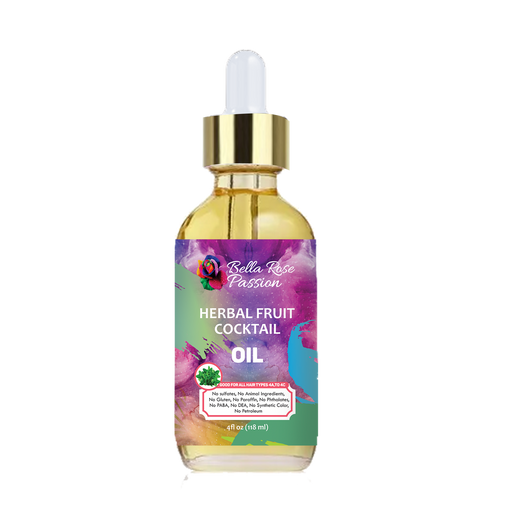 Herbal Fruit Cocktail Hair Oil - Bella Rose Passion
