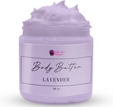 Whipped Face & Body Butter ( Lavender ) - Bella Rose Passion
