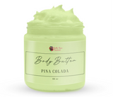 Whipped Face & Body Butter ( Pina Colada ) - Bella Rose Passion