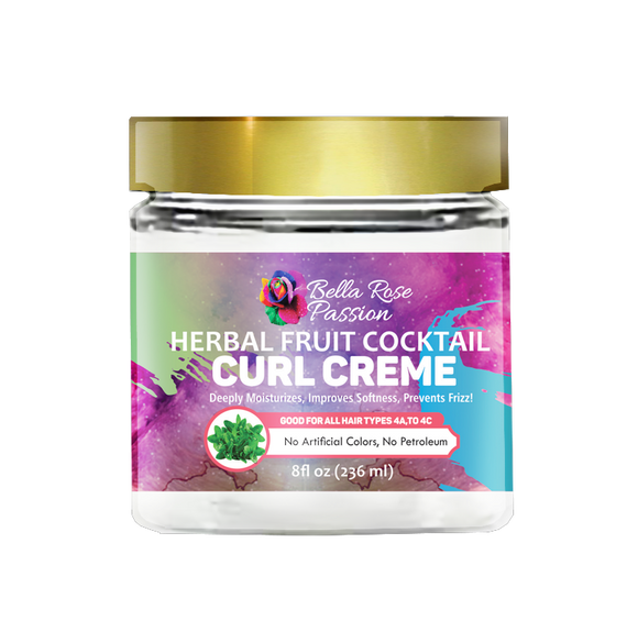 Herbal Fruit Cocktail Hair Curl Creme