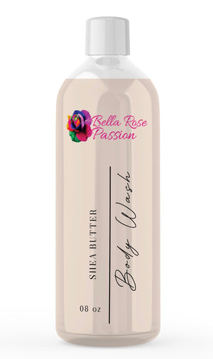 Load image into Gallery viewer, Body Wash ( Organic Shea Butter ) - Bella Rose Passion