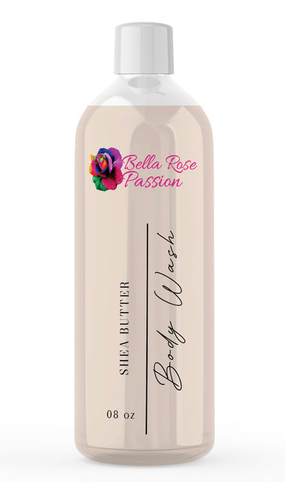 Body Wash ( Organic Shea Butter ) - Bella Rose Passion