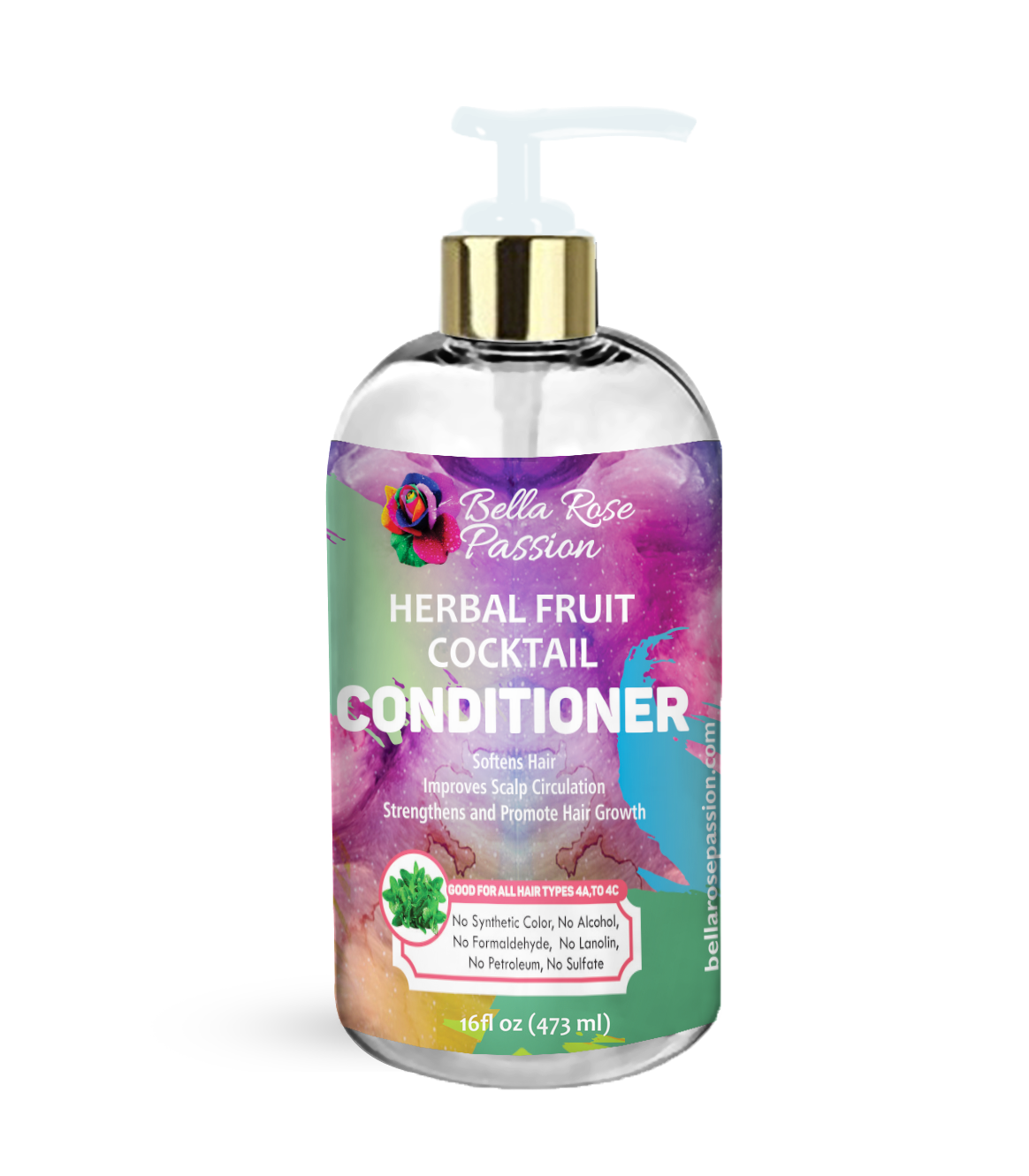 Herbal Fruit Cocktail Conditioner - Bella Rose Passion LLC