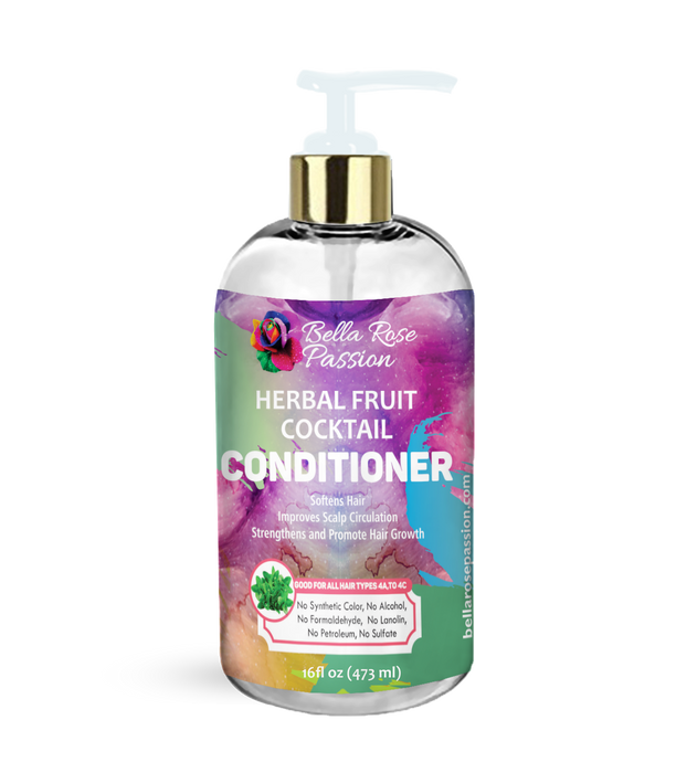 Herbal Fruit Cocktail Hair Conditioner - Bella Rose Passion