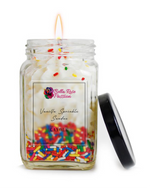 Vanilla Sprinkle Sundae Candle - Bella Rose Passion