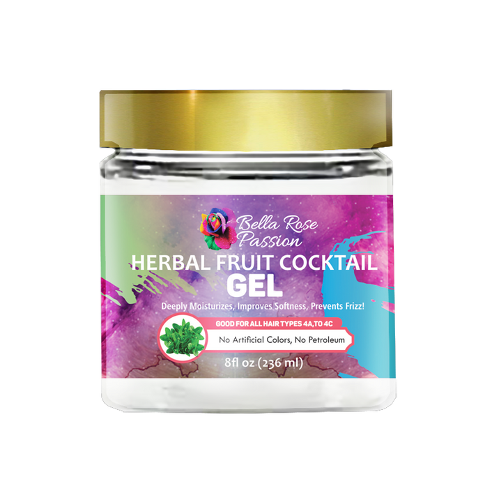 Herbal Fruit Cocktail Hair Gel - Bella Rose Passion