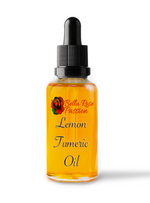 Face & Body Oil ( Lemon Tumeric ) - Bella Rose Passion