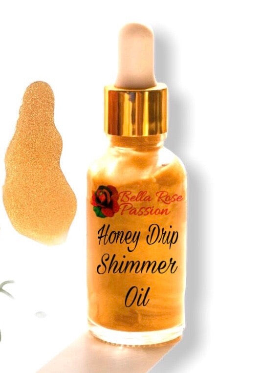 Body Oil ( Honey Drip ) - Bella Rose Passion