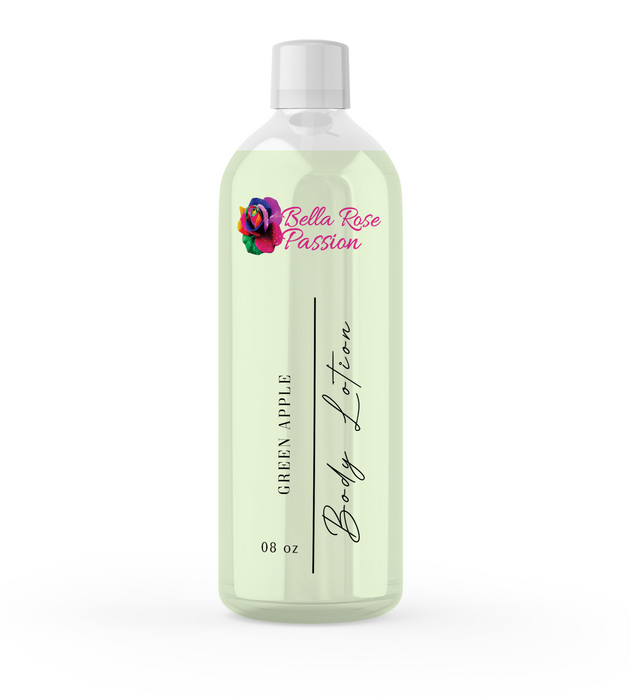 Lotion ( Green Apple ) - Bella Rose Passion